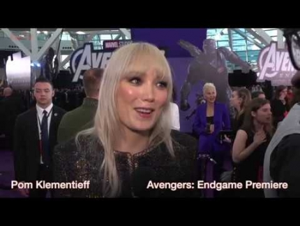 Pom Klementieff at the Avengers Endgame premiere