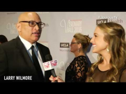 Larry Wilmore at the UCLA Neurosurgery Visionary Ball on FabulousTV