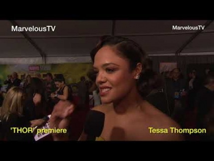 'THOR' premiere with Tessa Thompson on FabulousTV