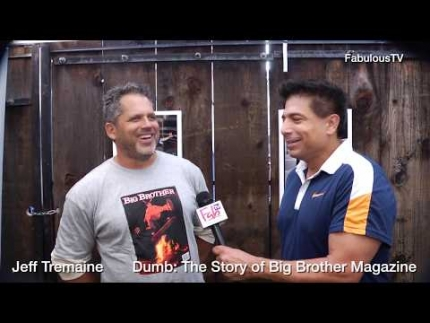 Jeff Tremaine recounts Dumb: The Story of Big Brother Magazine on FabulousTV