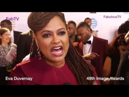 Ava Duvernay at the 49th Image Awards FabTV