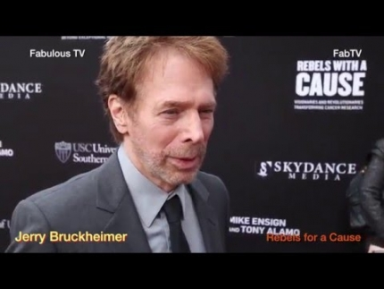 Jerry Bruckheimer & Kristin Chenoweth at 'Rebels for a Cause
