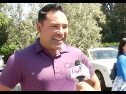 "Golden Boy ""Oscar De La Joya""  at George Lopez celebrity golf on FabTV"