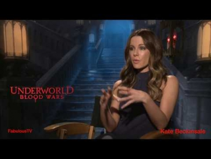 Kate Beckinsale talks about 'UnderWorld'  Blood Wars   Fabulous TV