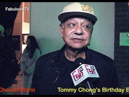 Cheech Marin at Tommy Chong\'s \'Birthday Bash 2016\' Fabulous TV
