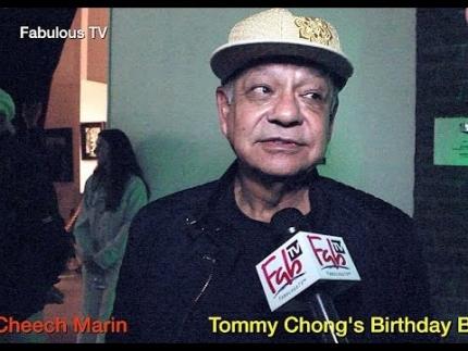 Cheech Marin at Tommy Chong\'s \'Birthday Bash 2016\' Fabulous TV