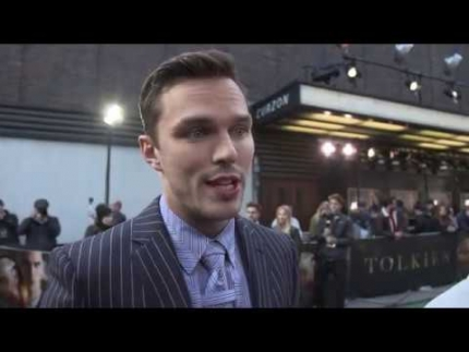 "Nicholas Hoult at the ""Tolkien"" UK premiere"