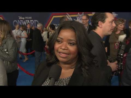"World premiere of ""ONWARD"" with  Octavia Spencer"
