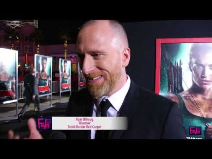 Director: Roar Uthaug at 'Tomb Raider' Red Carpet