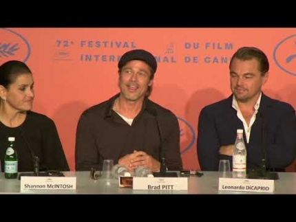 """Once upon a time in Hollywood"" PRESS CONFERENCE  Brad Pitt"