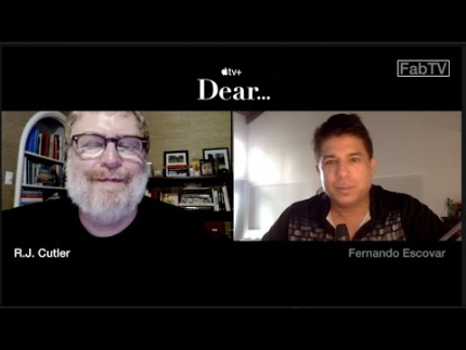 "R.J. Cutler interview about his new APPLE TV+ DOCUSERIES ""DEAR…"""