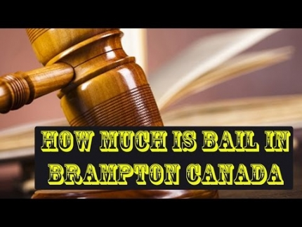 How Much Is Bail In Brampton Canada - Saggi Law Firm | Call Us at:(647-983-6720)