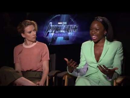 Avengers Endgame Danai Gurira & Scarlett Johansson