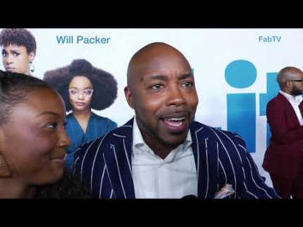 "Will Packer at the ""Little""  premiere"