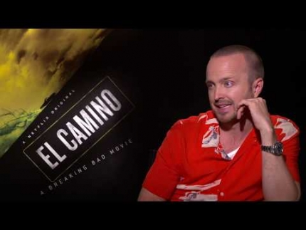 "Aaron Paul reveals ""El Camino"""