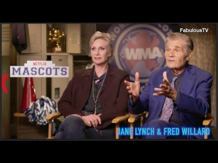 Jane Lynch & Fred Willard talks about Netflix's 'MASCOTS'  on FabulousTV