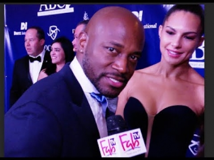 Taye Diggs at the 'JOHN WAYNE institute' event on FabTV