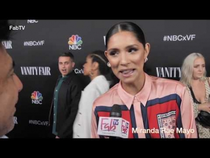 "Miranda Rae Mayo of ""Chicago Fire"" loves her job!"