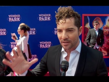 "David Bisbal  ""Wonder Park"" premiere & red carpet"