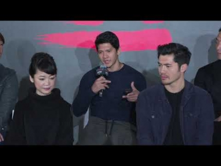 \'SNAKE EYES\' Press event with Iko Uwais