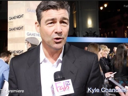 "Kyle Chandler at the ""GAME NIGHT""  premiere in Hollywood"