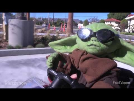 'Baby Yoda' gets coffee!!!