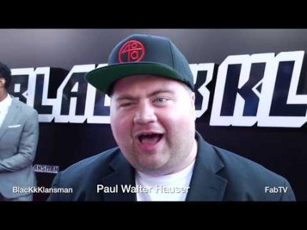 Paul Walter Hauser at  BlacKkKlansman  red carpet talks creepy actor...