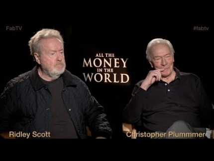 'All The Money In The World' Ridley Scott & Christopher Plummer