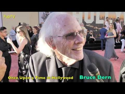 "Bruce Dern at the  ""Once Upon a Time in Hollywood""  LA premiere"