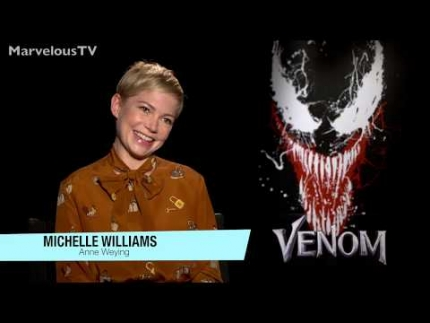 "EXCLUSIVE!  Michelle Williams  ""VENOM"""