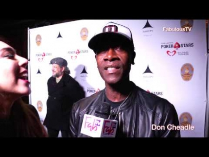 Don Cheadle at 'LAPD Celebrity Poker Tournament' at Avalon
