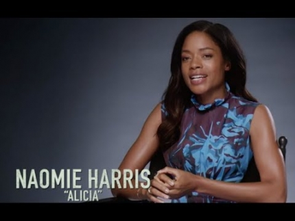 "Naomie Harris details ""BLACK and BLUE"""