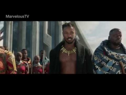 EXCLUSIVE:  Good to be King  'BLACK PANTHER' Michael B. Jordan