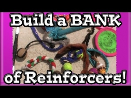 Building a bank of reinforcers