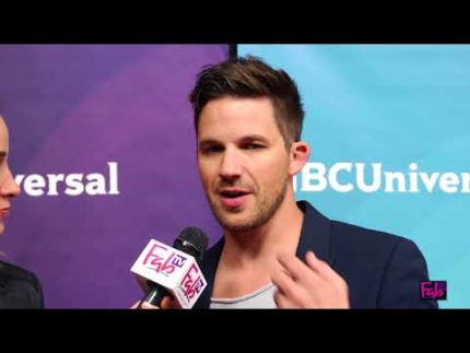 Matt Lanter Teases us about 'Timeless' at NBC Summer Press Tour 2018