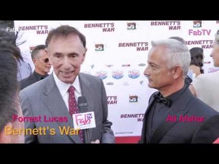 """Forrest Lucas & Ali Afshar talk about """"Bennett's War"""""""