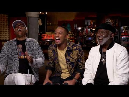 """SHAFT""  Interview: Samuel L. Jackson, Richard Roundtree, Jessie T. Usher"