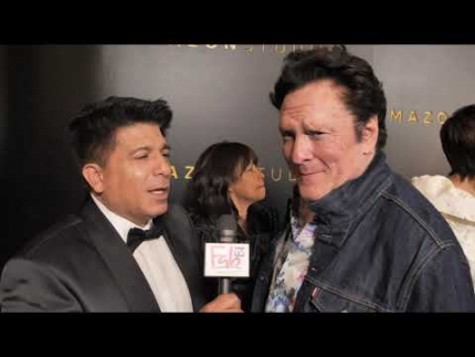 "Michael Madsen on the Amazon Studios red carpet at ""Golden..."