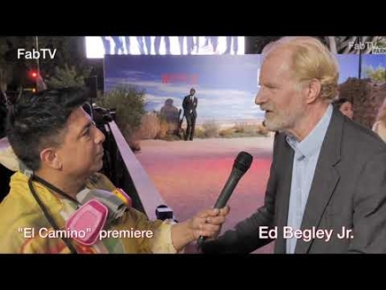 """Bless this Mess"" star Ed Begley Jr. talks wth FabTV at ""EL CAMINO""  premiere"