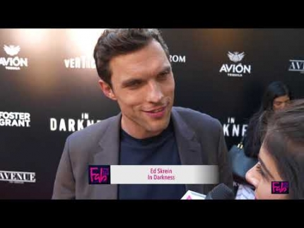 "Ed Skrein at the ""In Darkness"" world premiere"