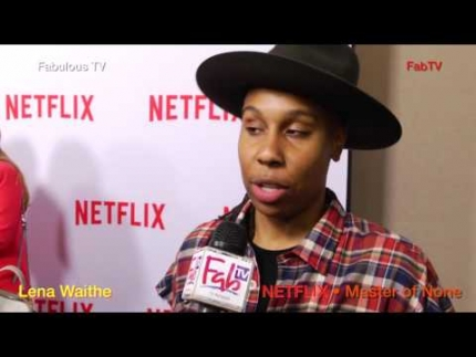 Writer Lena Waithe talks about her writing  at NETFLIX  'Master of None'  Fabulous TV
