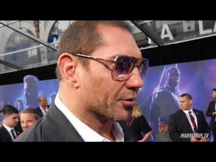 Dave Bautista \'Drax\' at AVENGERS: Infinity War World Premiere