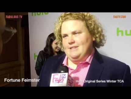 Fortune Feimster at Hulu Original Series Winter TCA Talent Event on FabulousTV