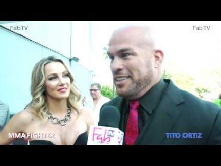 "MMA Fighter ""Tito Ortiz""  at celebrity poker on FabTV"