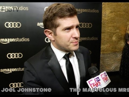 "Joel Johnstone talks ""The Marvelous Mrs. Maisel"" Amazon Studios @ Golden Globes on  FabTV"