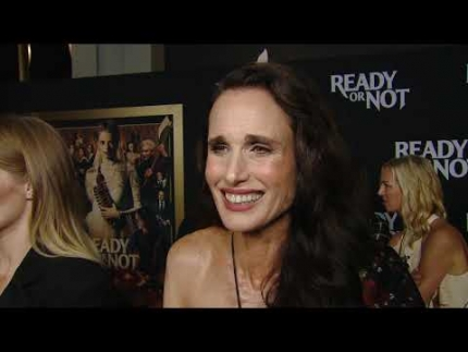 """Ready or Not"" World Premiere with Andie MacDowell"