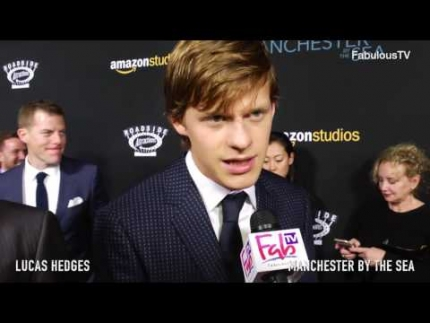 Lucas Hedges 'MANCHESTER by the SEA' premiere