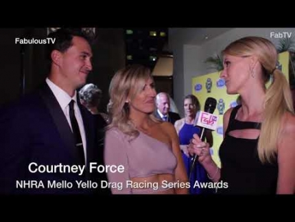 Courtney Force at the 'NHRA Mello Yello Drag Racing Series Awards'
