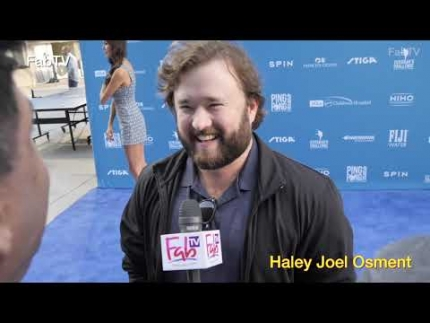 "Actor  ""Haley Joel Osment"" @ Dodgers Stadium  Kershaw's..."