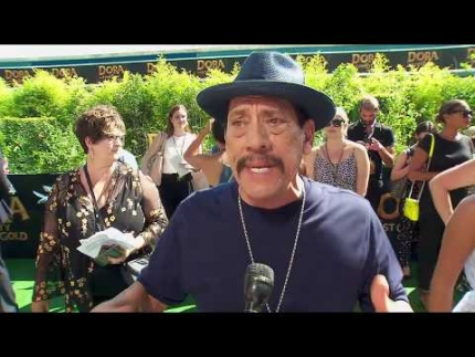 "Danny Trejo arrives at the ""Dora and the Lost City of Gold""..."